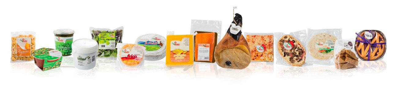 Carefully selected typical regional produce Casa Venfri